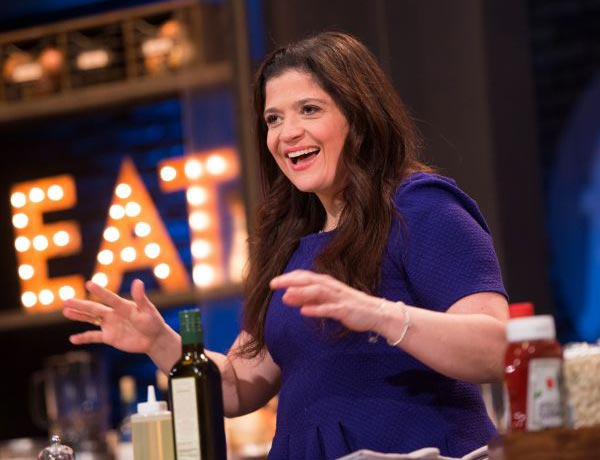 Alex Guarnaschelli appearance in TV show 'The Food Network'