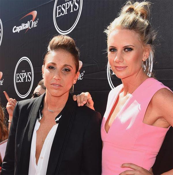 Diana Taurasi with rumored girlfriend(partner) Penny Taylor