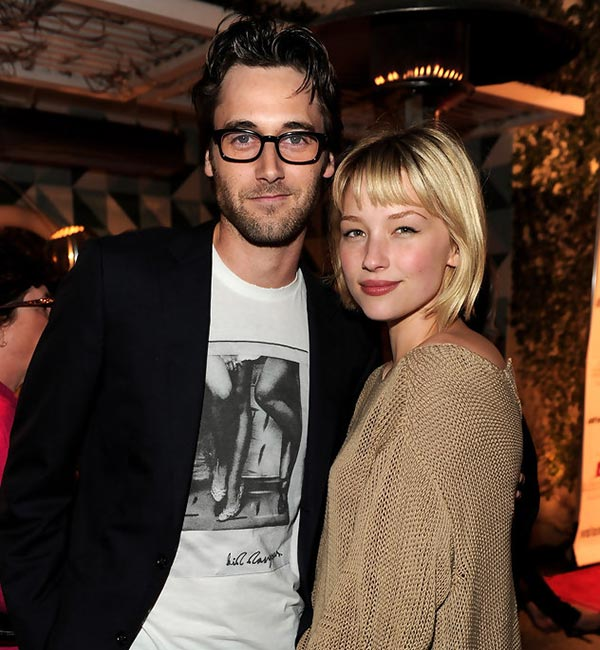 Haley Bennett and Ryan Eggold