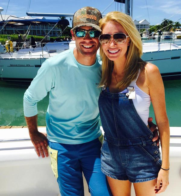 Kayleigh McEnany with her longtime boyfriend Sean Gilmartin(soon to be husband)