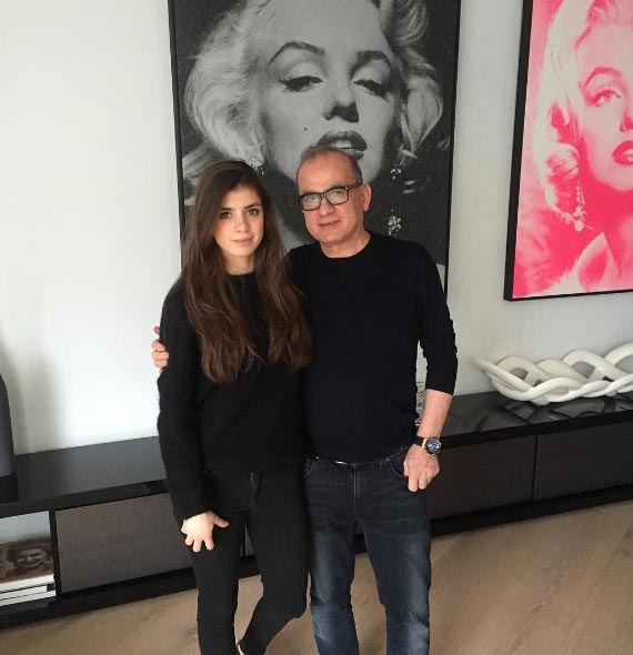 Touker Suleyman with his Daughter Tashia