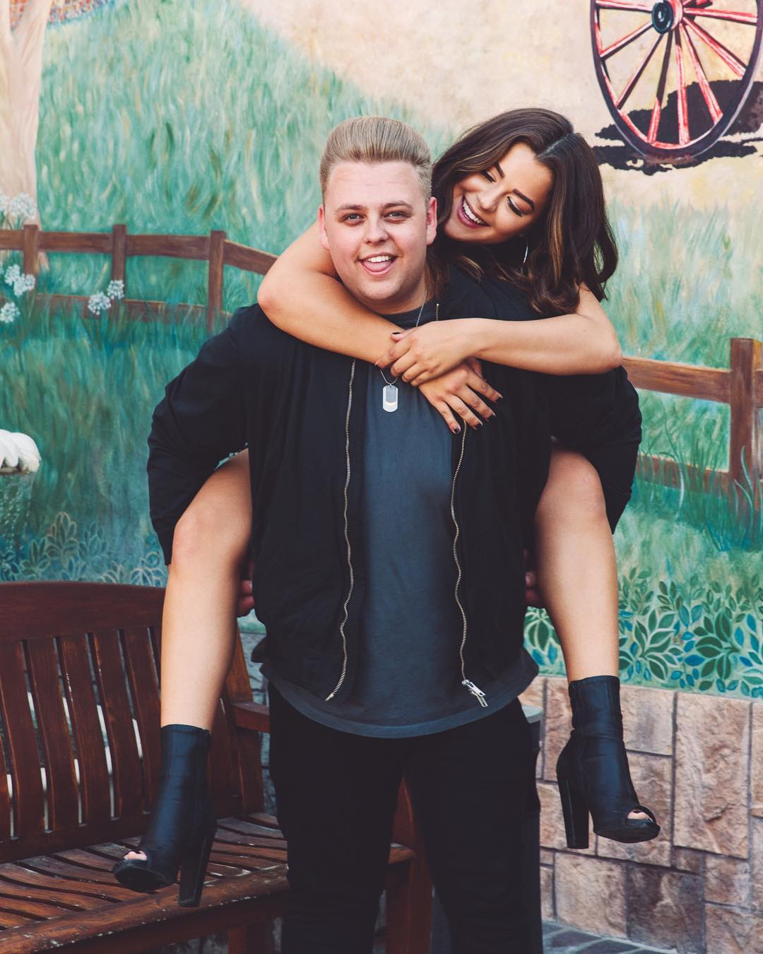 Image of Tessa Brooks and Nick Crompton.