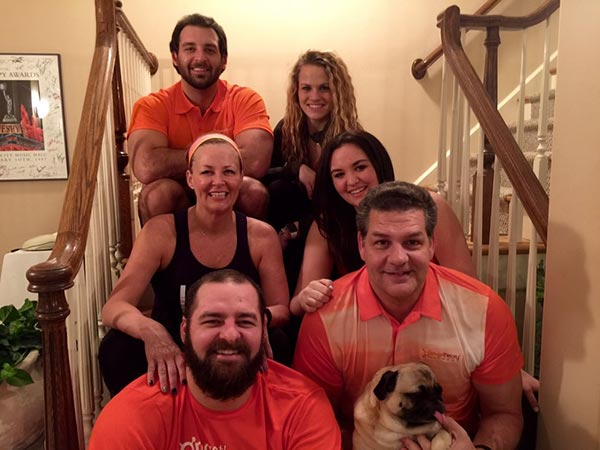 Mike Golic With Family