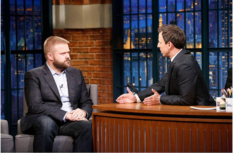 Robert Kirkman, during an interview with host Seth Meyers on October 8, 2015