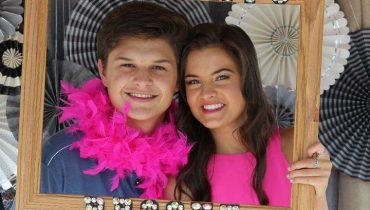 Hottest lady, Brooke Hyland with her boyfriend Nolan.