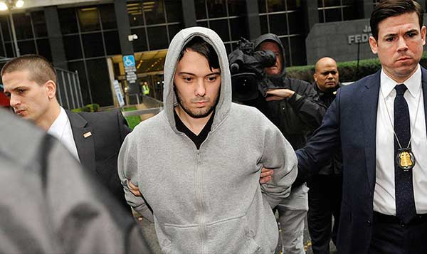 Martin Shkreli got arrested in 2017 for misusing his company's cash