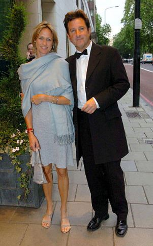 Mark Nicholas with his wife, girlfriend or married lady!