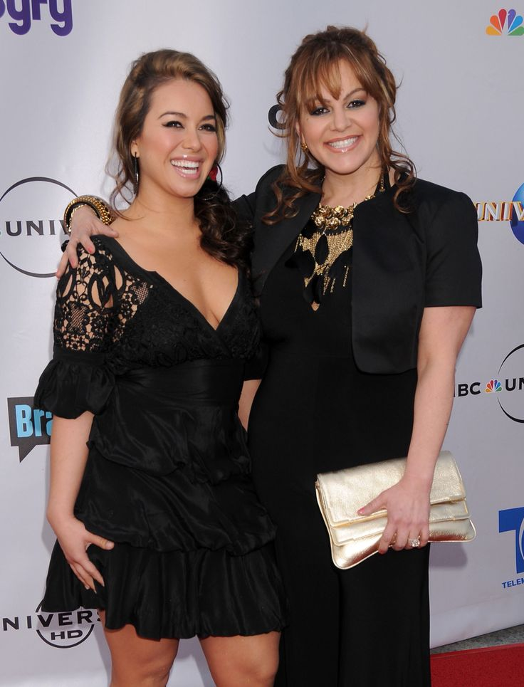 Sexiest Chiquis Rivera with her mother Jennie Rivera.