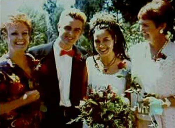 Billie and Adrienne Armstrong Wedding