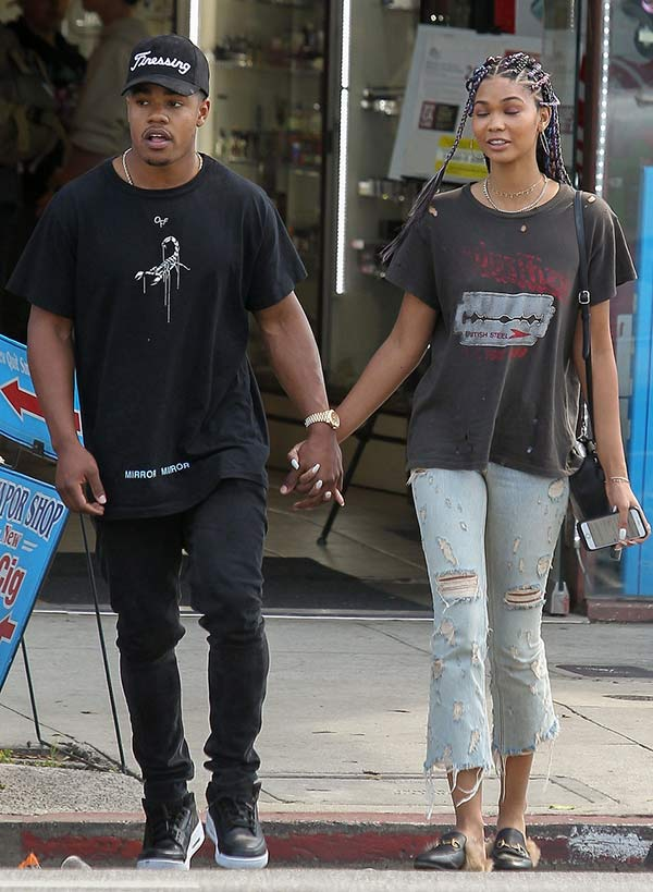 who is chanel iman parents
