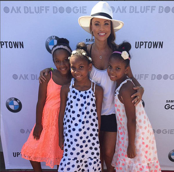 Gizelle Bryant and daughters