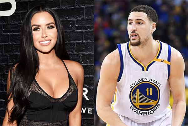 Abigail Ratchford and Klay Thompson