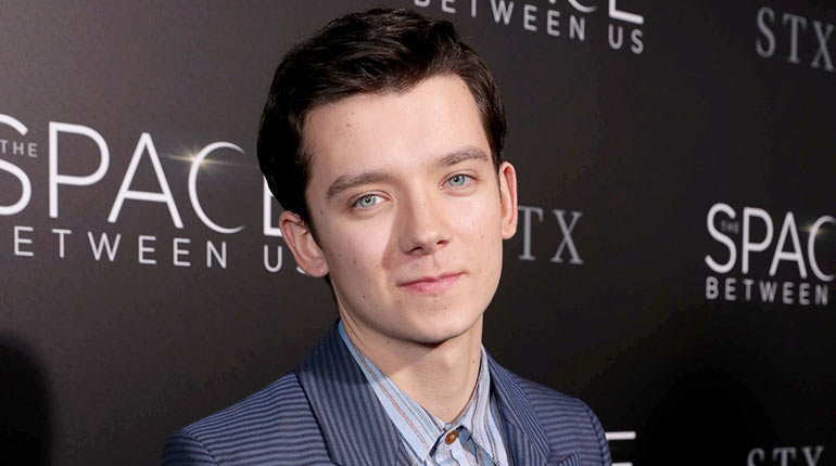 Asa Butterfield Girlfr...