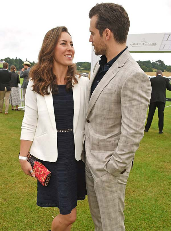 Henry Cavill and Lucy Cork