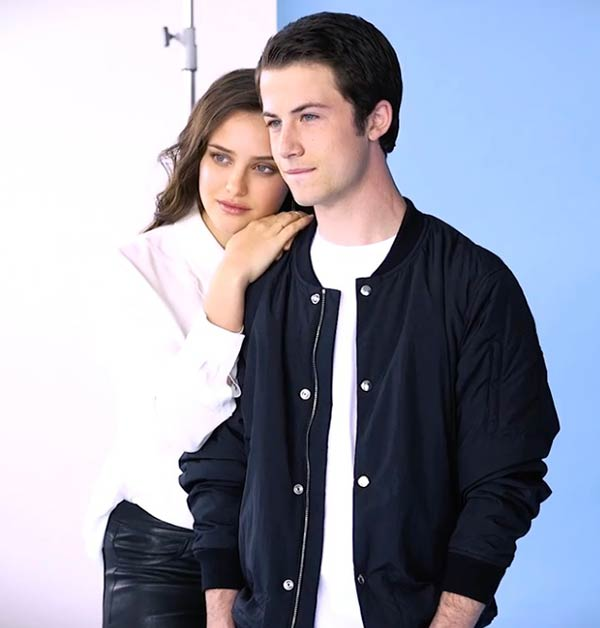 Katherine Langford and Dylan Minnette