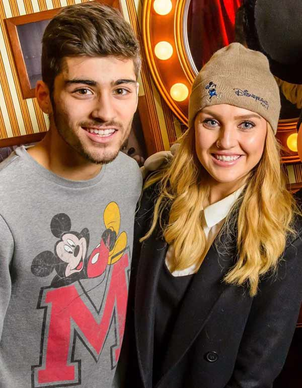 Sweet Couple: Perrie Edwards and Zayn Malik