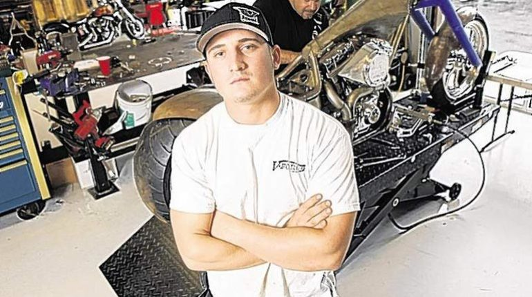 Cody Connelly from American choppers