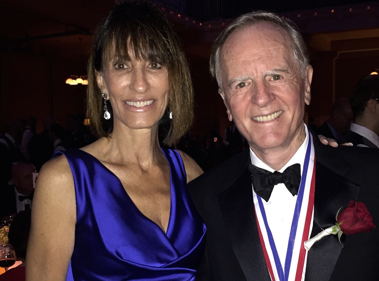 John Sculley with his ex wife Diane.