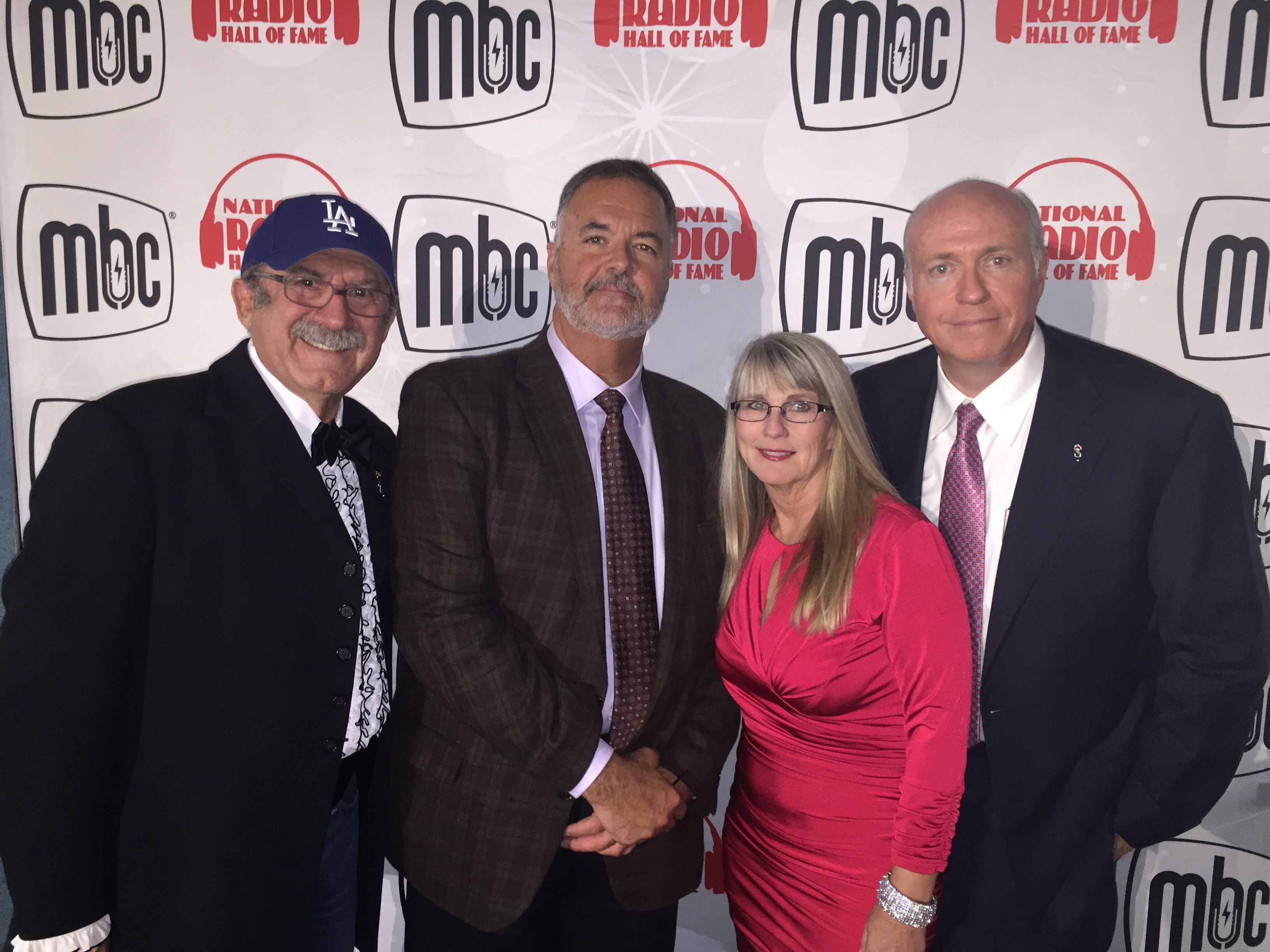 Kristi Lee with Tom Griswold, Chick McGee, and Josh Arnold.