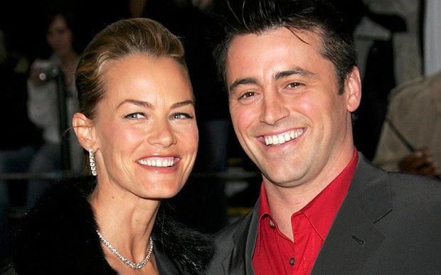 Melissa McKnight with her second husband Matt LeBlanc