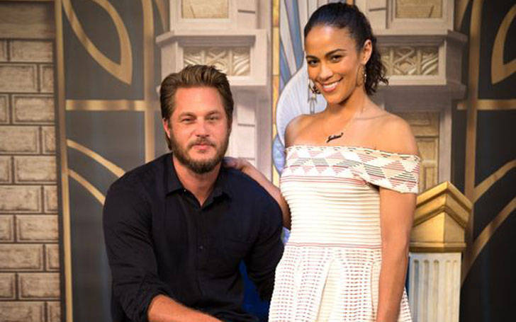 Does Travis Fimmel have a wife? Is he dating Paula Patton?