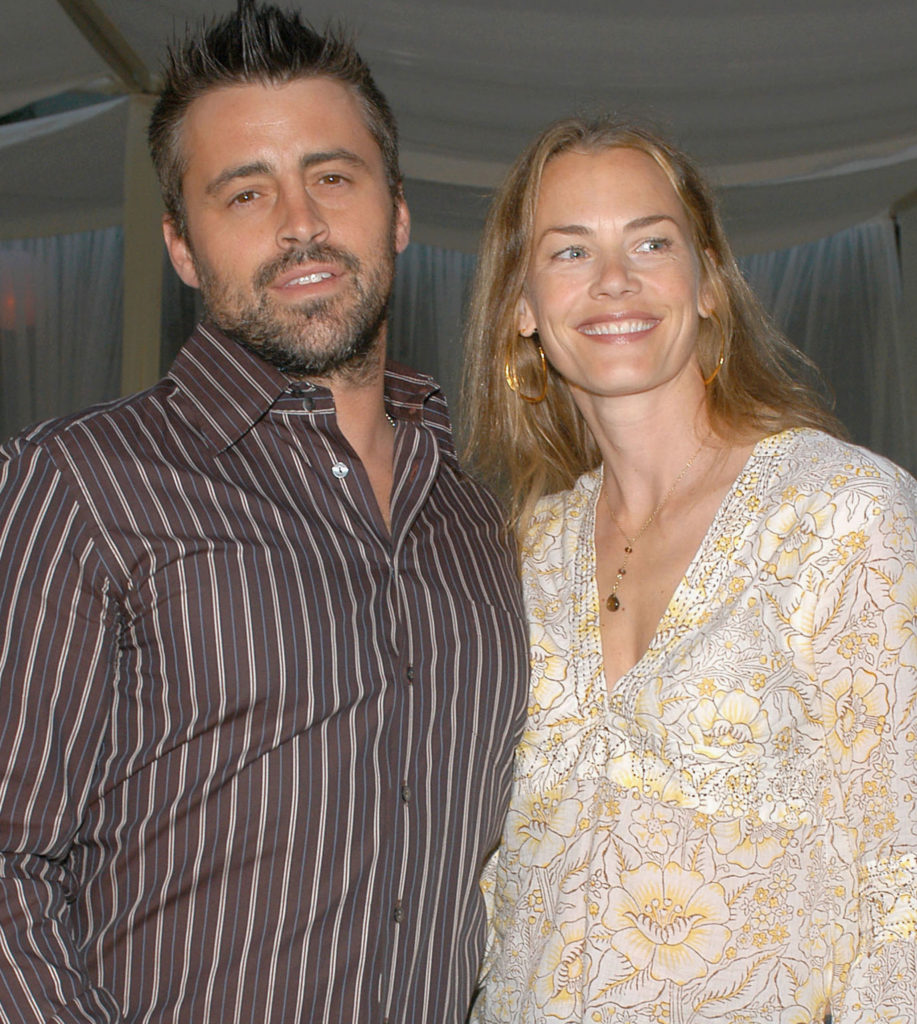 Melissa McKnight with husband Matt LeBlanc ( American actor, television host, and producer)