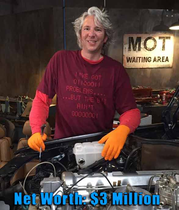 Edd China is Married to Wife, Imogen China  Know his Net